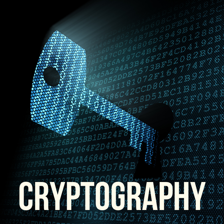 Cryptography graphic