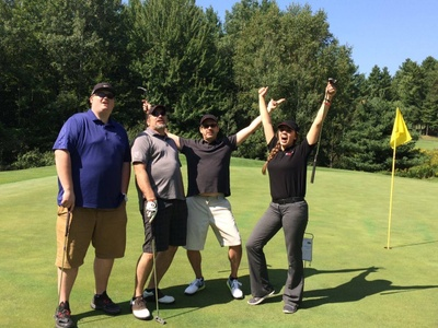 Wildcard supporting the Samoset Council, BSA at the 37th Annual Samoset Golf Scramble