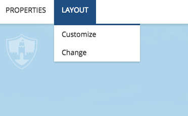 Image showing how to change the layout